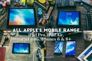 Thumbnail for The Range-100 Apple idevices mockups