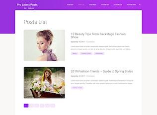 Thumbnail for Postberg - Latest Posts Block WordPress Plugin
