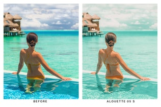 Thumbnail for 20 Turquoise Lightroom Presets and LUTs