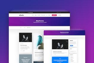 Thumbnail for Albedo - Creative Agency PSD Template