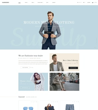 Thumbnail for Fashionist - WooCommerce WordPress Theme