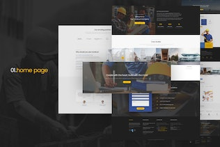 Thumbnail for Construct - Construction Joomla Template