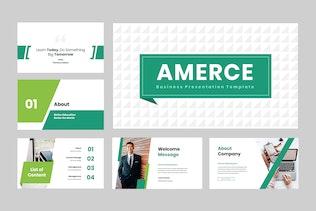 Amerce - Business Keynote Presentation