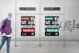 Thumbnail for Advertising Poster Mockups