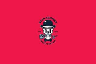Thumbnail for Dead Admirer Logo Template