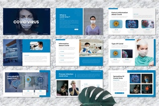 Covid Virus - Medical PowerPoint Template