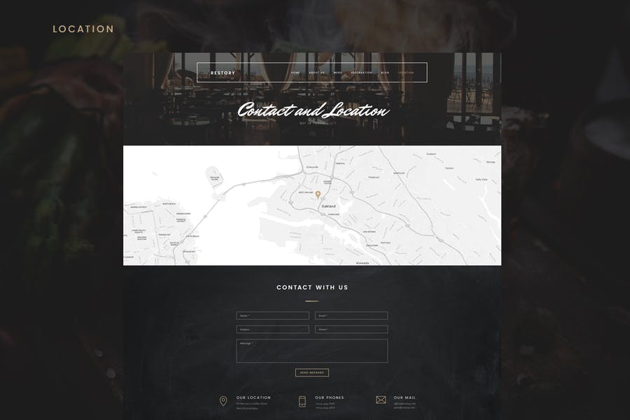 Restory - Restaurant & Cafe Joomla Template - product preview 6