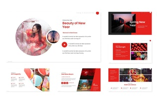 Spring New Year - Powerpoint Template