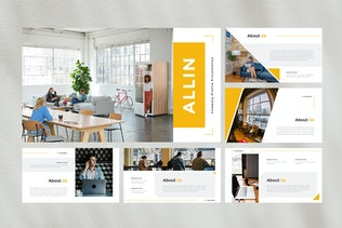 Company Profile Google Slides Template