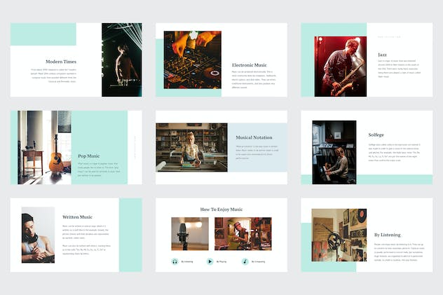 Celoze - Learning About Music Powerpoint - product preview 5