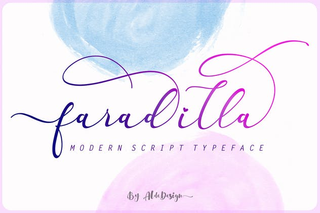 Fradilla - Modern Script Typeface - product preview 1