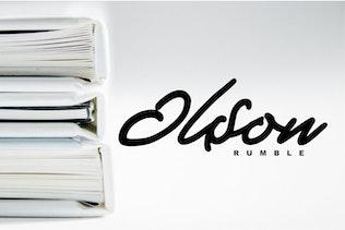 Thumbnail for Demian - Handwritten Bold Typeface