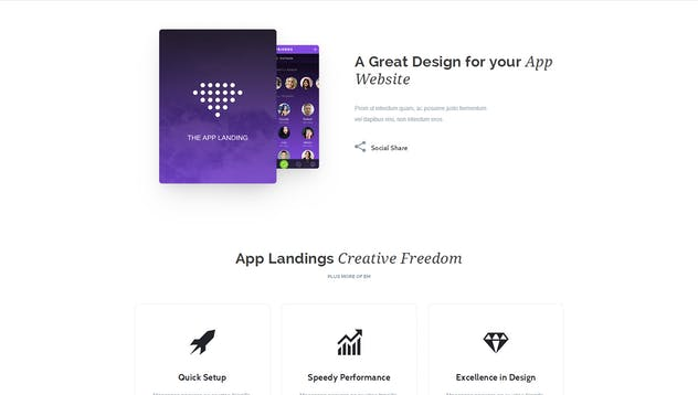 App Promotion   One Page App Promotion Theme - product preview 13
