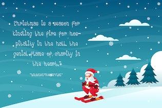 Miniature pour Snowy - Font de Noël décorative