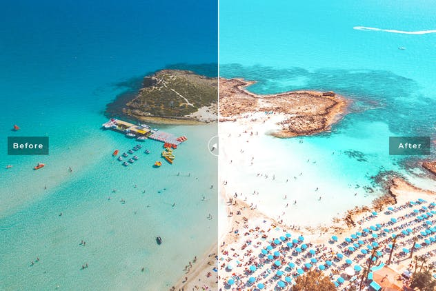 Ayia Napa Mobile & Desktop Lightroom Presets - product preview 2