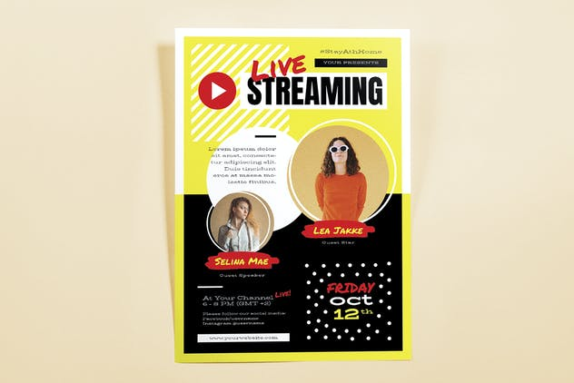 Live Streaming Template Set - product preview 3