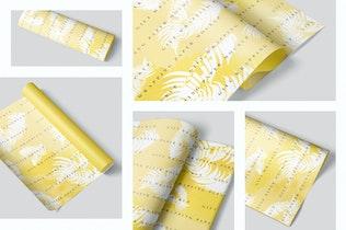 Thumbnail für Geschenkpapier Mockup Set