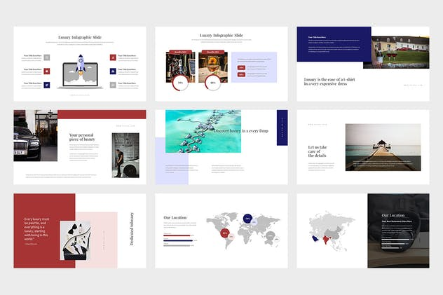 Evoza : Luxury Lifestyle Powerpoint - product preview 5