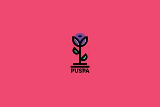 Thumbnail for Puspa Logo Template