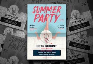 Thumbnail for Summer Pool Flyer