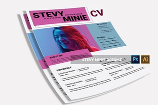 Thumbnail for Stevy Minie | CV & Resume
