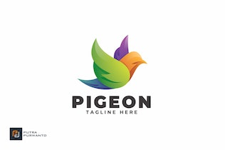 Thumbnail for Pigeon - Logo Template