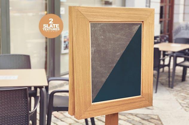 Chalkboard Bar Mockup