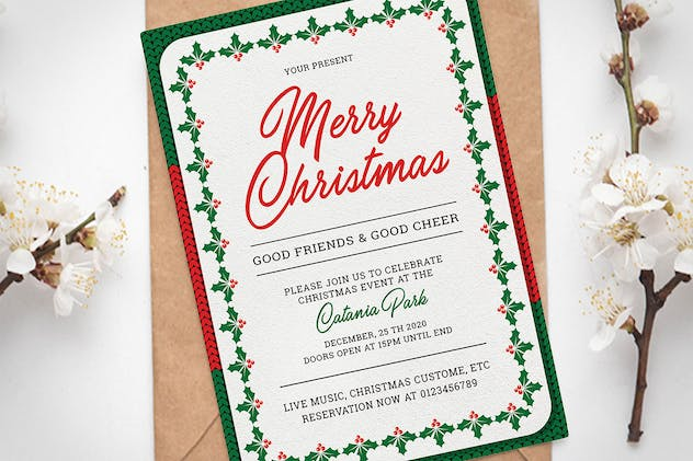 Christmas Invitation - product preview 3