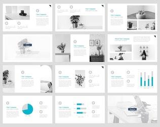 Миниатюра для Харви - Творческий Шаблон слайдов Google
