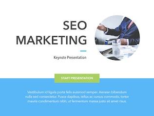 Thumbnail for Marketing & SEO Keynote Template