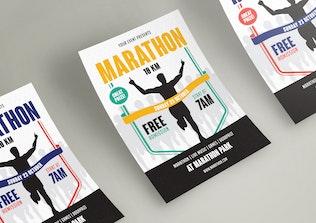 Thumbnail for Marathon Event Flyer