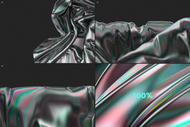 Iridescent Abstract Backgrounds - product preview 10