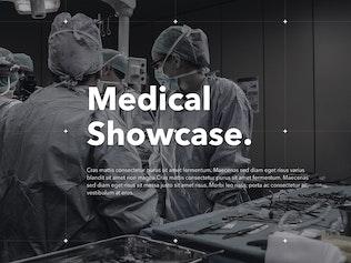 Thumbnail for Medical Showcase Keynote Template