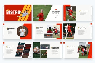 Thumbnail for Bistro - Soccer & Football Google Slides Template