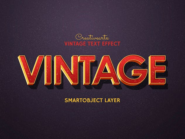 Vintage Retro Text Effects - product preview 3