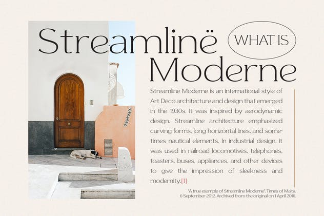 Streamline Moderne - product preview 5