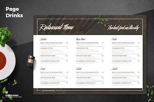 Thumbnail for Trifold Restaurant Menu