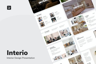 Interio - Дизайн интерьера Google Слайды