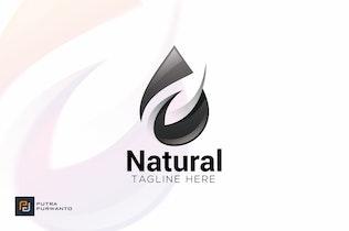 Thumbnail for Natural - Logo Template